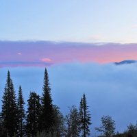 Там за туманами, за горами уже взошло солнце :: Сергей Чиняев