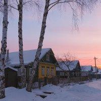 Рассветная деревенька :: Николай Белавин