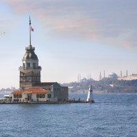Стамбул. Девичья башня. :: Сергей Яснов