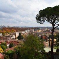 Италия. С холма  Яникул открывается панорама Рима. :: Galina Leskova