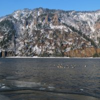 Зима на Енисее :: Татьяна Соловьева