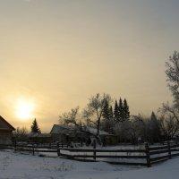 зимние  туманы :: Владимир Коваленко
