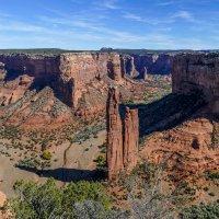 Еще один вид Каньона Де Шейи (Canyon De Chelly, Аризона, США) :: Юрий Поляков