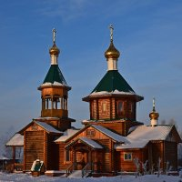 Верхнекетский храм :: Леонид Чащин