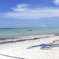 Белоснежный песочный пляж океанского побережья :: Ольга Петруша