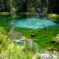 Голубой магнит....(гейзерово озеро) :: Стил Франс