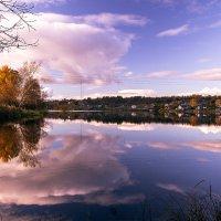 Осень на Ведлозере. :: Михаил Осипов