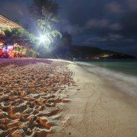 Вечер на пляже :: Дамир Белоколенко