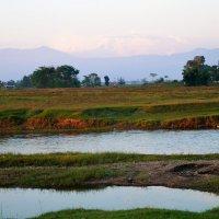 Непал. Читван. Закат :: Gal` ka