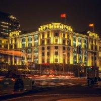 Вечерний Шанхай...Китай! :: Александр Вивчарик