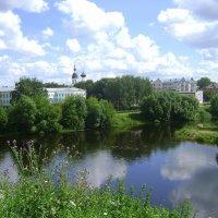 Река Ловать в Великих Луках :: Марина Домосилецкая
