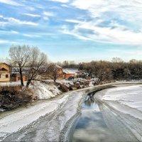 Лишь не замерзла полоска одна, мысль о весне нам наводит она.. :: Андрей Заломленков