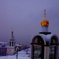 Город в фиолетовых сумерках :: Наталья Сазонова