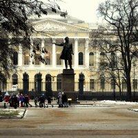 Памятник Пушкину  1 :: Сергей