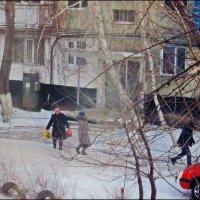 Пока еще непривычная, но уже зима... :: Виктор Катин