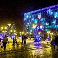 новогодняя иллюминация :: юрий иванов