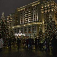 На Манежной площади :: Анастасия Смирнова