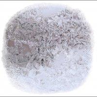 """Снежные """"крошки"""" на дачном окошке :: muh5257"""