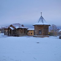 Суздаль. В музее деревянного зодчества и крестьянского быта... :: Николай Смольников
