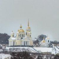 Церковь в селе :: ирина лузгина