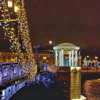 Вид на мост Дворцовый. :: Владимир Гилясев