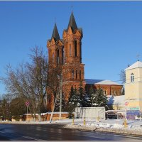 Костел Св. Варвары 18-ый век. :: Роланд Дубровский