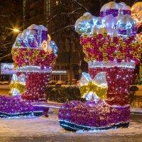 Новогодняя скамейка :: Юрий Поздников