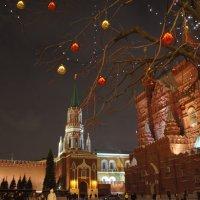 Москва предновогодняя :: demyanikita