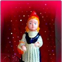 Ретро - Красная Шапочка на прищепке :: Нина Корешкова