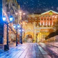 Столешников переулок ночью :: Игорь Соболев
