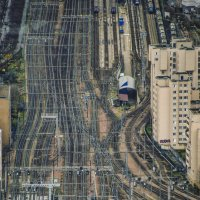 Railway in Paris :: Eddy Eduardo