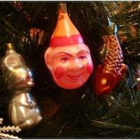 Ретро - клоун и золотая рыбка :: Нина Корешкова