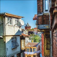 Задворки Балата с видом на Греческий лицей :: Ирина Лепнёва