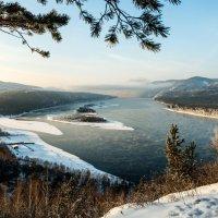 Острова на Енисее :: Анатолий Соляненко