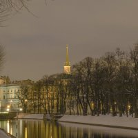 Зимний пейзаж :: bajguz igor
