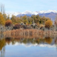 Осень на Иссык-Куле... :: Schbrukunow Gennadi