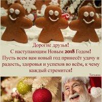 С Новым Годом, дорогие друзья! :: Tatiana Belyatskaya