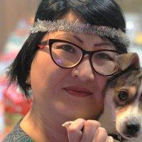 Дама с собачкой :: Юрий Гайворонский