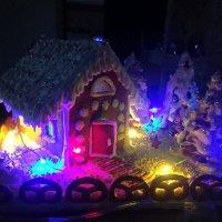 Пряничный домик с подсветкой . :: Мила Бовкун
