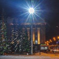 Ночной Новосибирск :: Михаил Измайлов