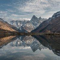 Озеро Туманлыкель и гора Чотча... :: Аnatoly Gaponenko