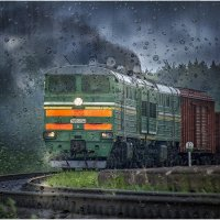 Сквозь ветер и дождь! :: Алексей Румянцев