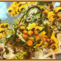 Жёлтые цветы :: Анатолий Чикчирный