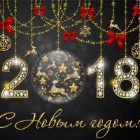 Новогодняя открытка :: Наталья Жукова