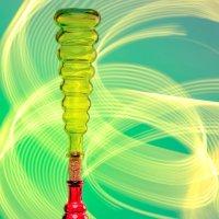 2 бутылки и фонарик :: вадим