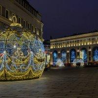 Новогодняя Москва. На Лубянке. :: Надежда Лаптева