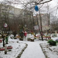 Наш новогодний двор :: Самохвалова Зинаида