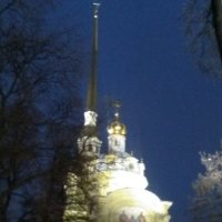 Петропавловский собор вечером. (Петербург, 6 января 2018 год) :: Светлана Калмыкова