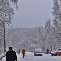 Наш двор прошлогодней зимой :: Нина Корешкова