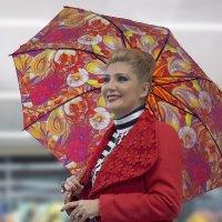 Мадам и зонтик :: Shmual Hava Retro